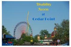 Disability Access at Cedar Point - the world's best amusement park! #CedarPoint