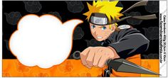 Naruto: Etiquetas para Candy Bar para Imprimir Gratis. Naruto Birthday, 10th Birthday, Birthday Party Themes, Naruto Party Ideas, Party Printables, Free Printables, Naruto Free, Table Labels, Oh My Fiesta