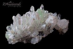 Brandberg Goboboseb Quartz Crystal Cluster Prehnite SE10 | eBay