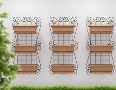 Super Kit Horta Vertical Jardim Suspenso120x60