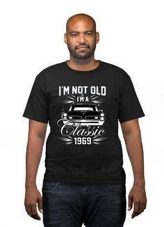 Birthday Shirt Dad Birthday Gift Ideas For Him Bday Happy 50th Birthday, Dad Birthday, Birthday Shirts, Birthday Ideas, How To Get Thin, Cute Promposals, Milestone Birthdays, Personalized Shirts, Mens Tees