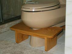 Home made squatty potty