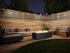 Backyard Patio Designs, Backyard Landscaping, Fire Pit Frame, Modern Outdoor Furniture, Outdoor Decor, Outdoor Ideas, Concrete Fire Pits, Fire Table, Patio Accessories
