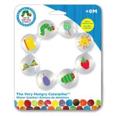 Very Hungry Caterpillar Water Teether