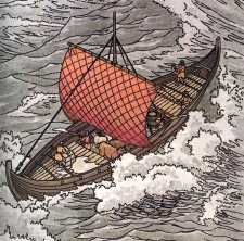 Why did the Vikings invade civilizations and how were their motives different then the Germanic people?