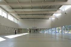 school gymnasium - asnières-sur-seine - o-s - 2013 photo cecile septet
