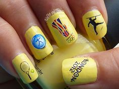 Olympic Nail Art Roundup