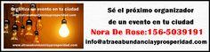 ¿Sabes que puedes contar en tu ciudad con la presencia de la coach Andrea Bruno?                                                                   NORA NOEMI DE ROSE  15 65039191                                                                                                                                          noraderose@gmail.con