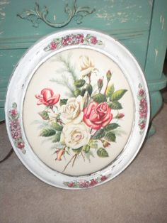 Spectacular Turner Vintage Rose Print in Up by HitOrMissTreasures, $38.00