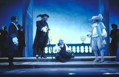 1996/97 L'avaro di Molière, regia di Lamberto Puggelli, foto di Luigi Ciminaghi