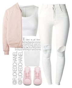 """█ █"" by fuckedchanel ❤ liked on Polyvore featuring Alaïa, (+) PEOPLE, adidas, Creatures of Comfort and T By Alexander Wang"