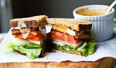 Spicy Chipotle Tofu Sandwich