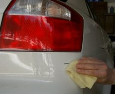 Tip: If you wipe down the surface with either wax and grease remover or thinner, the paint will stick much better.