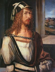 Prado portrait. Albrect Durer. 1498. Durer,s declaration and affirmation to the world that the artist is not a workman but a gentleman. The air of hauteur hints that he is even more: An aristocrat