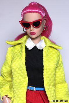 Realistic Barbie, Poppy Parker, Custom Dolls, Vintage Barbie, Have A Great Day, Beautiful Dolls, Burlesque, Integrity, Fashion Dolls