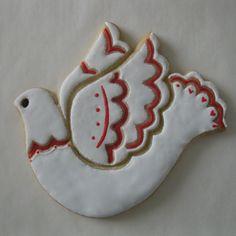 Valentine Dove ~ Sugar Cookie   J. Tamara