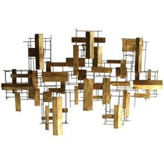 Abstract Metal Wall Sculpture FOR WALL