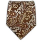 Walking Paisley - Brown - Walking Paisley - Brown Ties