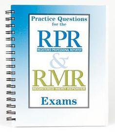 StenoWorks The Court Reporting Store - Practice Questions for the  RPR and RMR Exams, $14.99 (https://store-803d4.mybigcommerce.com/practice-questions-for-the-rpr-and-rmr-exams/)