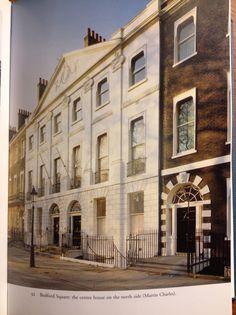 London--Regency era townhouses, Bedford Square
