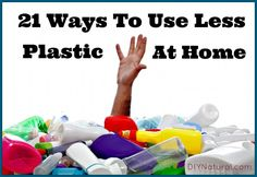 Living plastic free is almost impossible nowadays, but every effort helps. Here are 21 every day ways to reduce the use of plastics in your home.