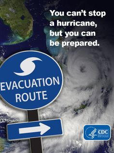 #Hurricane season begins June 1. You can't stop a tropical storm or hurricane, but you can take steps now to protect yourself and your family. Be prepared and sign up for tips throughout hurricane season from CDC!