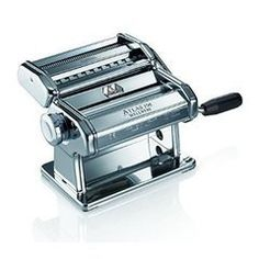 For preparing a pasta at home which is tasty, healthy and full of purity –you would require a good quality pasta maker machine which should be comprised of a 10-position thickness adjustment knob to change the thickness of the sheets; a branded pasta roller such as Marcato Atlas 180 mm roller.