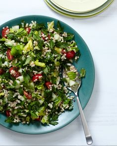 Four-Herb Tabbouleh // Delicious Middle Eastern Recipes: http://www.foodandwine.com/slideshows/middle-eastern #foodandwine
