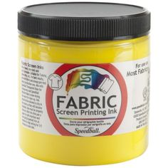 Speedball Art Products Fabric Screen Printing Ink, 8-Ounc...