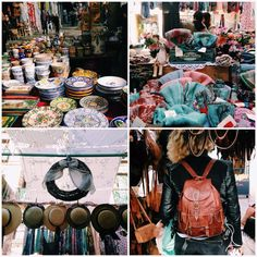What better way to spend a Sunday morning than at a #flea market? Rastro de Madrid in Los Madriles, #Madrid #Spain
