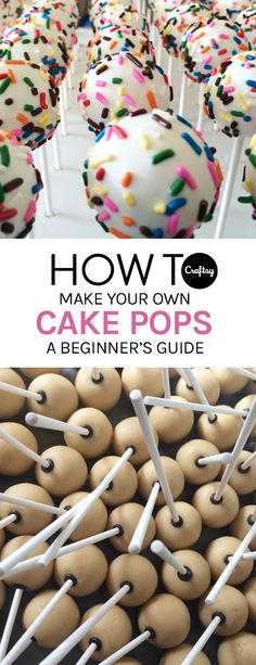 Check out these beginner tips and tricks to making perfect cake pops. Here's Your Step-By-Step Guide to Making the Best Cake Pops You've Ever Seen Andi King readytopin Yum! Check out these beginner tips and tricks to making perfect Cakes To Make, Cake Pops How To Make, How To Make Cakepops, Diy Cake Pop, Bolo Cookies And Cream, Cake Mix Cookies, Oreo Cake Pops, Luau Cake Pops, Cookie Dough Cake Pops