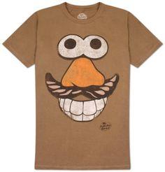 mr potato head tshirt. Perfect for my stepdad!