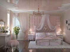 A Magical Space: Princess Bedroom Ideas | Princess bedrooms ...