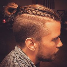 nice 35 Newest Men's Top Knot Hairstyles - Be Out of the Ordinary