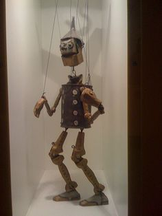 Tin Man Puppet by **paul_clark**, via Flickr