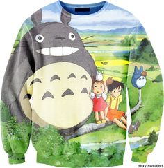 Oh yeaaaah. My Neighbor Totoro sweater