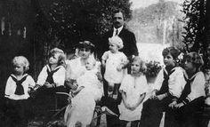 La famille impériale exilée en Suisse