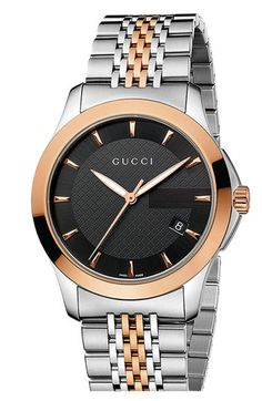 43f995df33 Gucci Unisex Swiss G-Timeless Rose Gold-Tone and Stainless Steel Bracelet  Watch Jewelry & Watches - Watches - Macy's