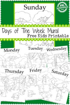 7 days a week free k