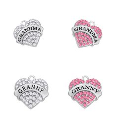 Find More Charms Information about Teamer Brand Crystal Heart Grandma Granny Charms Pendant for DIY Necklace Best Family Gift,High Quality charm pendant,China charm heart pendant Suppliers, Cheap heart charm pendant from Teamer Official Store on Aliexpress.com Diy Jewelry Charms, Official Store, Family Gifts, Diy Necklace, Heart Charm, Jewelry Accessories, Charmed, China, Crystals