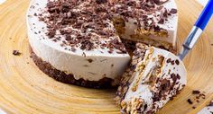 Receita de Semifrio de chocolate com base de salame de chocolate, Para 12 unidades. Tempo: Médio, Dificuldade: Fácil, Custo: Barato