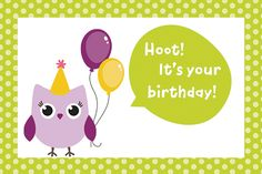 Looking for cute #birthday cards? Here's one, also get an added benefit of easily #Whatsapp-ing this #ecard. #happybirthday #free #cards #greetings #wishes.