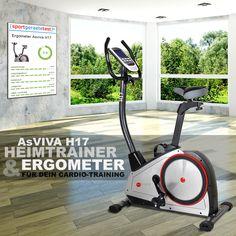 Gesund & Vital oder einfach nur TOP FIT H17 Heimtrainer | Ergometer... Dein Fitnesspartner!  Direkt vom Hersteller und Versandkostenfrei.* www.AsVIVA.de - das ist Fitness made in germany
