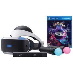 Retrouvez-vous dans de nouveaux univers de réalité virtuelle riches et enveloppants avec cet ensemble de démarrage de PlayStation. Il offre tout ce dont vous avez besoin pour commencer, y compris un casque de réalité virtuelle en ... Obtenez la livraison gratuite sur les commandes de plus de 35 $.