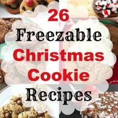 sponsored links 26 Freezable Christmas Cookie Recipes Oh it is that time of year again! Time to break out the KitchenAid mixers! Whether it is for yourself, your friends, or simply Santa – cookies just seem to be a regular part of the season.This year, take the time to enjoy the holidays rather than stressing yourself out with a huge baking to-do list by making up and freezing these Christmas cookie recipes ahead of time. Why not pick one or a few to give as inexpensive presents this…
