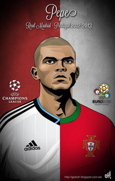 Pepe getting us pumped up for Euro 2012!