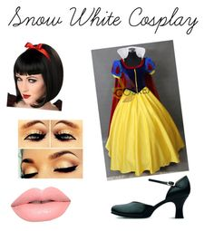 """""""Snow White - Cosplay"""" by buffyblogs on Polyvore"""