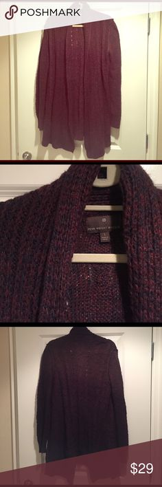 Fenn Wright Manson Long Sweater 'Tis the season for layering! This sweater is a great addition to any outfit. It's a maroon/purple blend and in very good condition. Sweaters