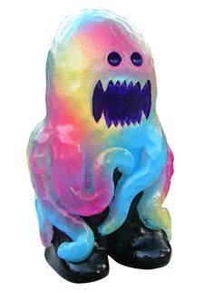 Architeuthis | We Kill You!  Hand made resin toy  http://www.wekillyou.net