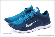 chuteiras barata Masculino Neo Turquoise/azul bravo/Volt/Branco Nike Free 4.0 Flyknit 631053-401